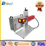 Portable 20W Fibre marqueur machine de marquage au laser Marquage non métalliques en métal