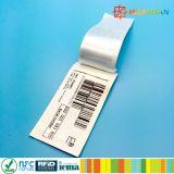 Contrassegni colti lunghi dell'abito dell'indumento tessuti frequenza ultraelevata dell'intervallo Monza5 RFID