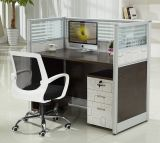 OEMのオフィス用家具4人ワークステーションオフィスのキュービクル(HX-NCD377)