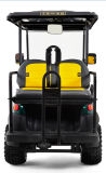 48V batteriebetriebener 4 Seater elektrischer Golf-Buggy für Verkauf