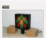 der 200mm Zoll-Station-Anschlag gehen Ampel des Grün-LED rote