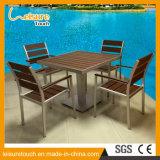 حديثة خشبيّة فناء شرفة غاري [بولووود] ألومنيوم وقت فراغ مقهى [بيسترو] كرسي تثبيت طاولة حديقة محدّد فناء خارجيّة يتعشّى أثاث لازم