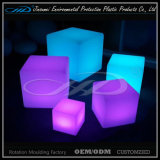 Direct recargable recargable plástico color LED tabla y silla
