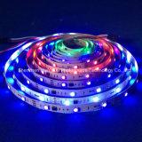 Farbenreicher SMD5050 Streifen des RGB-IP20 Chip-30LEDs 9W DC12V LED