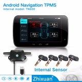 Sistema Android TPMS Conexión USB TN601 Sistema de monitoreo de presión de neumáticos