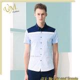 Camicia dell'uomo del disegno casuale della camicia di colore di combinazione
