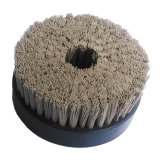 Brosse à plaques rondes à base de carbure de silicium