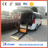 Подъем кресло-коляскы техника Xinder, гидровлический Lifter для Van (WL-D-880)