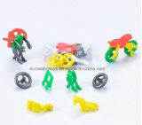 Motocicleta del deslizamiento y de la deformación del juguete de la asamblea de DIY para los niños