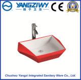 Bacino sanitario di ceramica di arte degli articoli (YZ1309)