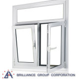 Luxuxaluminiumflügelfenster-Fenster/Schwingen-Fenster/Neigung-und Drehung-Fenster