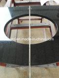Vanità all'ingrosso del granito del nero di alta qualità con la parte superiore