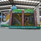 Lovely Bouncer gonflable pour bateaux Safari Park avec trampoline gonflable à glissière (AQ01583)