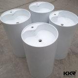 Un design moderne salle de bain évier en pierre du bassin de lavage de socle