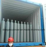 La pureza del 99,9% de la presión alta del cilindro de gas de helio