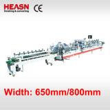 Verrouillage automatique zone inférieure de pliage et de l'encollage de la machine (CA-650PC)