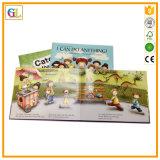 Impression bon marché de livre d'enfants de livre À couverture dure de service des douanes