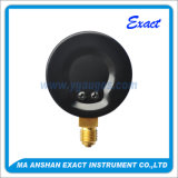 Calibre inferior - Medidor de pressão seca - Calibre com ponteiro ajustável vermelho
