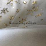 Tessuto di timbratura caldo del panno morbido dell'oro per la decorazione