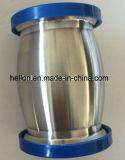 Tipo sanitario valvola di ritenuta della sfera dell'acciaio inossidabile con lo scolo