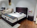 형식 현대 작풍 절반 가죽 연약한 침대 (SBT-34)