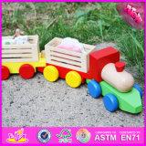 2016 нового дизайна моды деревянные детские игрушки поездов W04A281