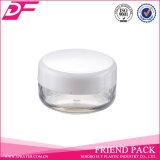 Mini tarro plástico del envase cosmético, tarro cosmético plástico