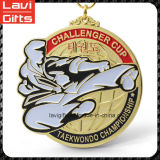 공장 최신 판매 국기 모양 레슬링 금속 메달