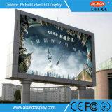 HD P6 Full Color Out Door Signature de publicité LED