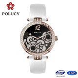 Color oro rosa de blancos personalizado de lujo Relojes de Mujer