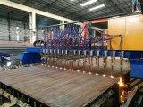 De op zwaar werk berekende CNC van de Brug Scherpe Machine van het Gas van het Plasma met Knipsel Straighting