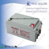 batterie profonde du cycle AGM de 12V 65ah pour le système solaire d'UPS