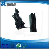 Interfaz USB estándar EMV único lector de tarjetas IC magnético