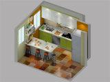 プロジェクトのための熱い販売2 PACのシンプルな設計の台所
