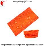 印刷された水滴は染めた昇進(YH-HS057)のためのスカーフのヘッドスカーフを