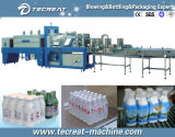 Macchina per l'imballaggio delle merci restringente e della bevanda della pellicola automatica piena della bottiglia