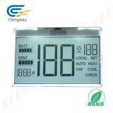 황록색 특성 Tn 유형 Transmissive 포지티브 LCD 표시판