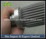 Filtre tissé par filtre de treillis métallique de cartouche de treillis métallique d'acier inoxydable
