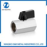 Le Dr. 1020 chrome en laiton de robinet à tournant sphérique de 3/8 pouce le mini a plaqué