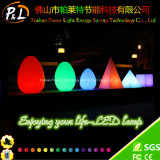 36cm Fashion Ovo RGB brilhante Shap luz de LED