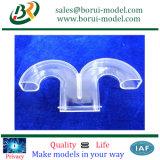 Polished прозрачные части CNC подвергая механической обработке