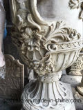 European Sandstone Flowerpot Sculpture Our Companyは私用によってカスタマイズすることができる彫刻の彫刻のさまざまな種類を作ることを専門にする