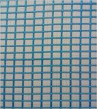 Textiel en Polyester Stof Ribstop Organza voor kledingstuk