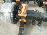 40 Pies 2 ejes Chasis Cisterna semi - remolque / Air Suspension