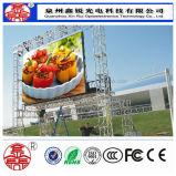 Placa de indicador interna do diodo emissor de luz da cor cheia da fábrica P10 de China para o arrendamento
