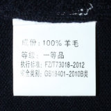 Bm16045 100% gestrickter Form-Pullover der Wolle-V Stutzen für Männer