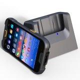 Terminal IP68 tenu dans la main industriel imperméable à l'eau raboteux de Smartphone avec des caractéristiques Collecter de scanner de code de Qr du code barres 1/2D