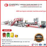 Máquinas de fabricação de folhas de plástico de alta qualidade para sacos e mala