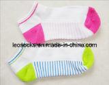 上の販売の綿によって編まれるかわいく多彩な子供のソックス