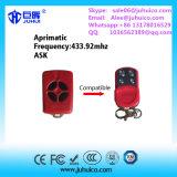 Двери строба Aprimatic дистанционное управление всеобщей совместимое с Кодим завальцовки 433.92MHz